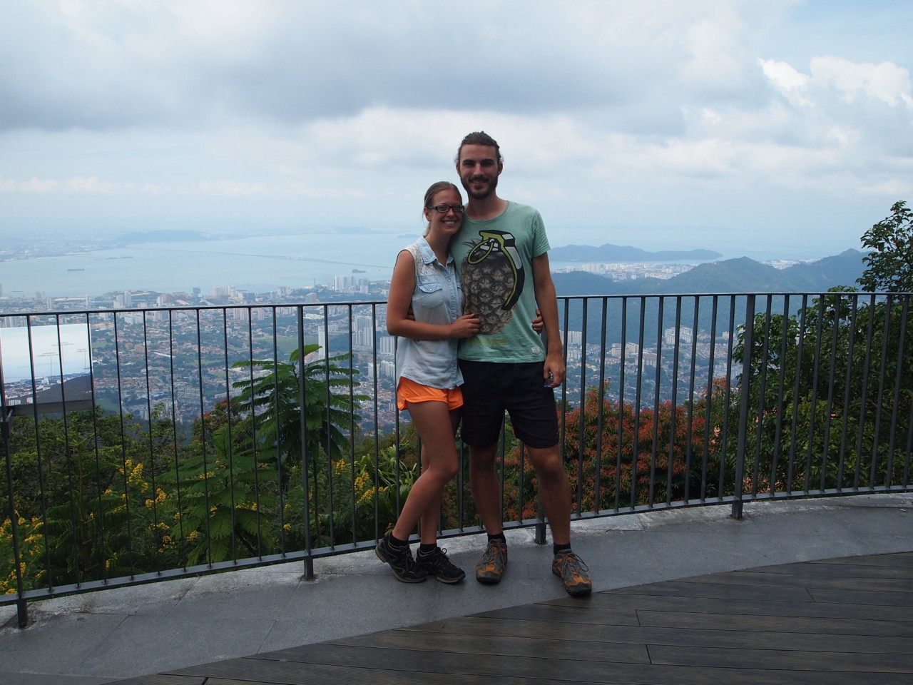 Auf dem Penang Hill