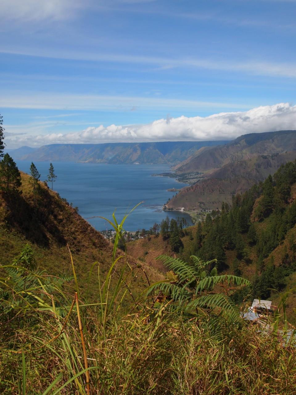 Ausblick auf den Lake Toba