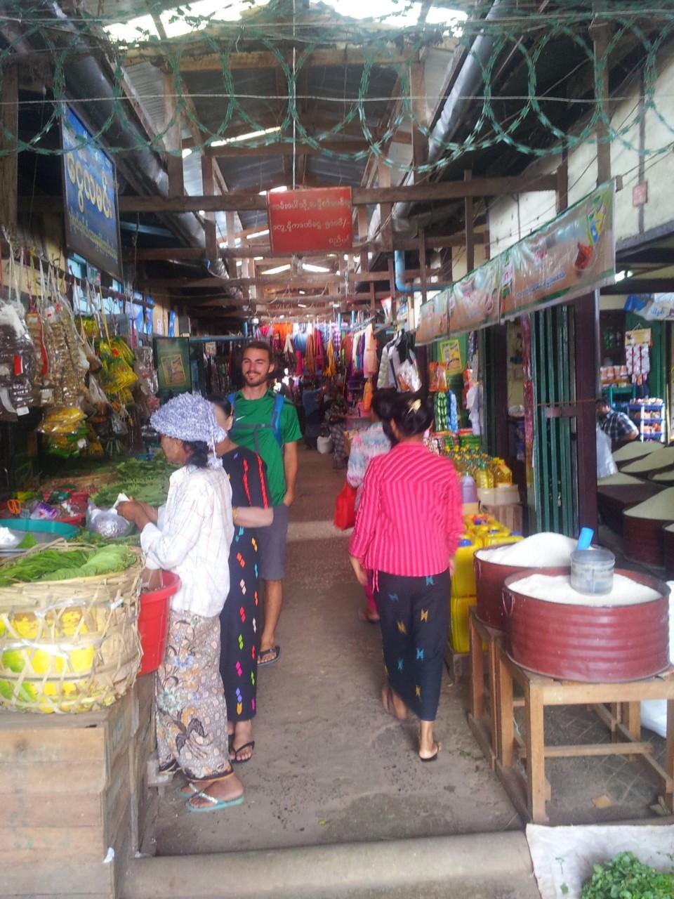 Der Markt in Kalaw.