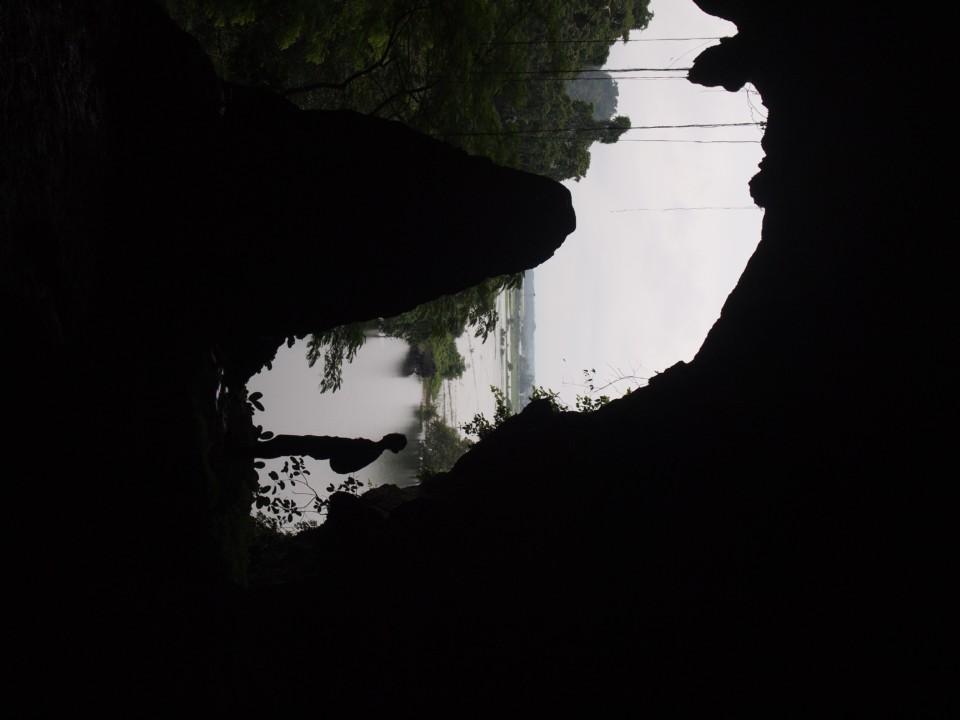 Ausgang aus einer der Höhlen.