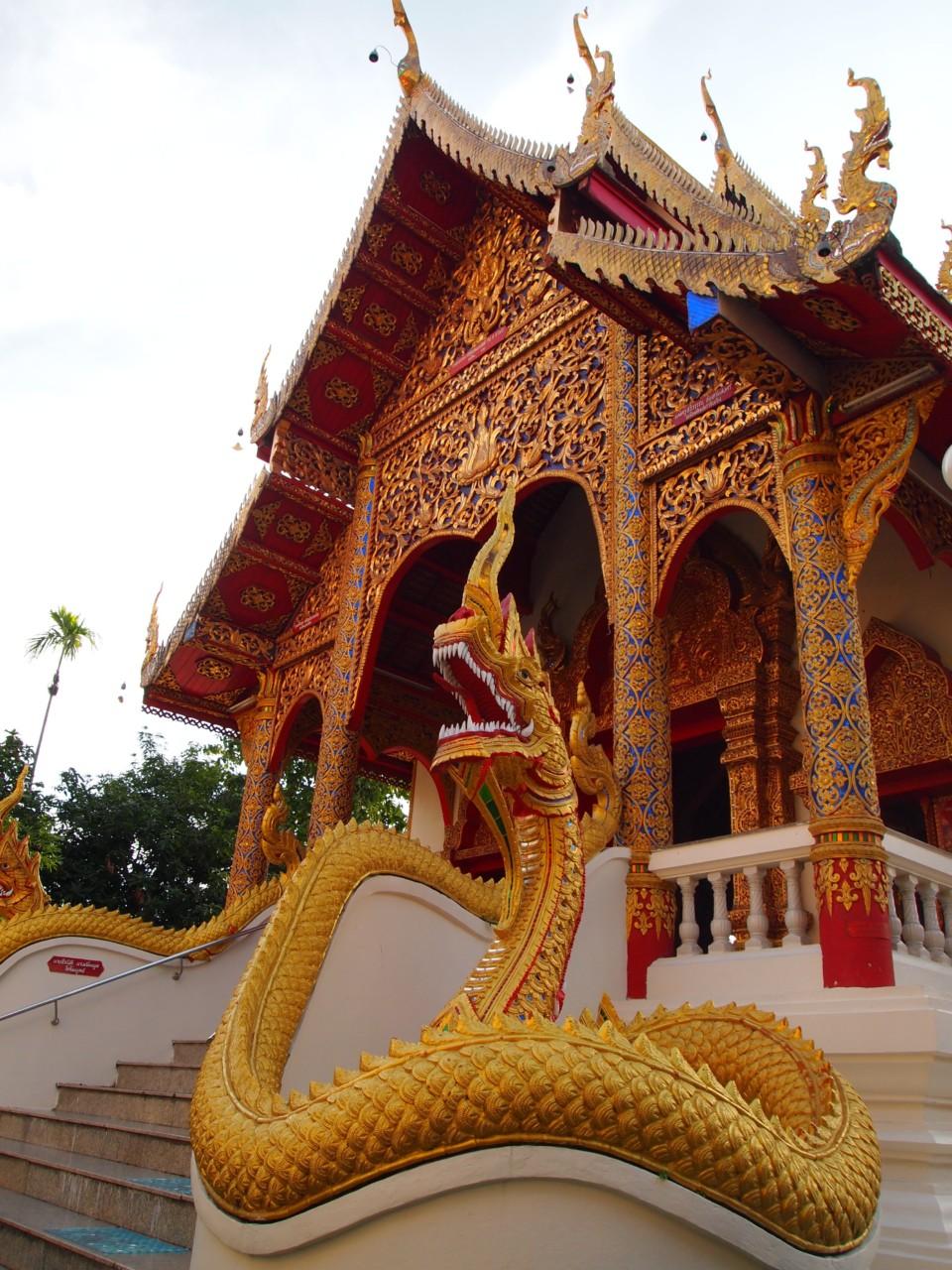 Ein typischer Tempel