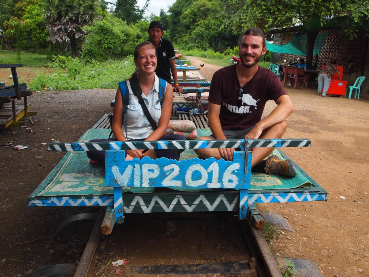 VIP Plätze auf dem Bamboozug