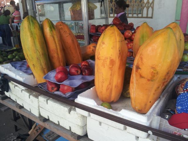 Papaya - So groß und so billig.