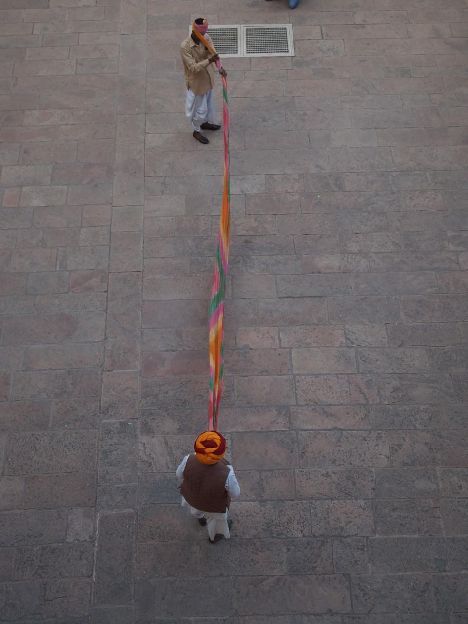 Wie man einen Turban bindet