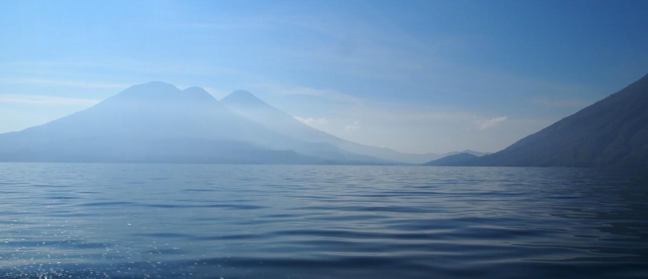 Auf dem See Atitlan